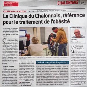 obésité cyril gauthier clinique du chalonnais
