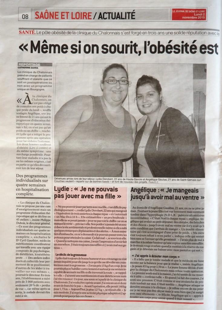 article obésité novemnbre