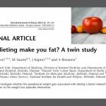 Prise de poids et régimes