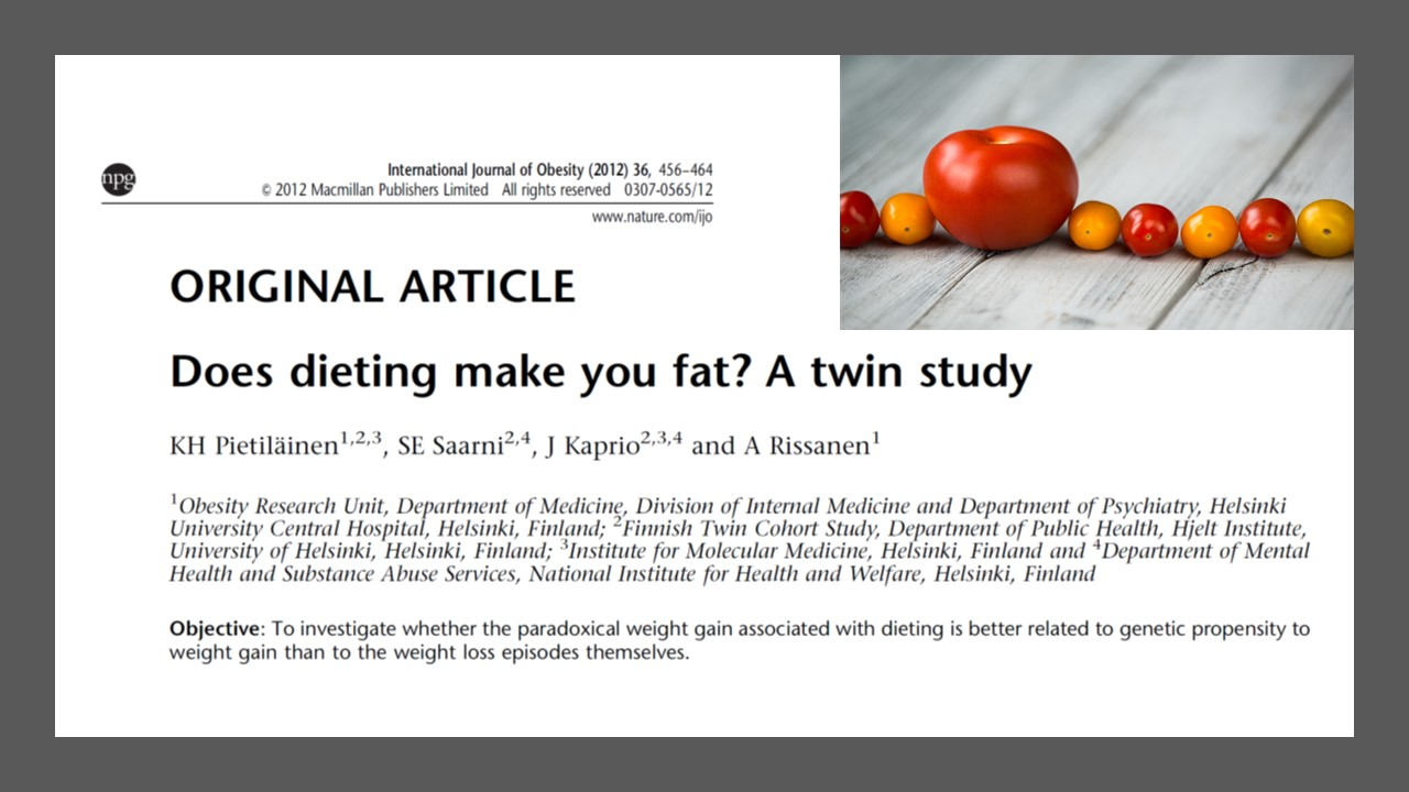 prise de poids et régimes 2